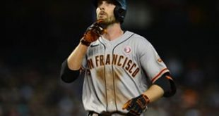 Austin Slater blasts another mammoth home run in Giants' 5-2 win over D'Backs