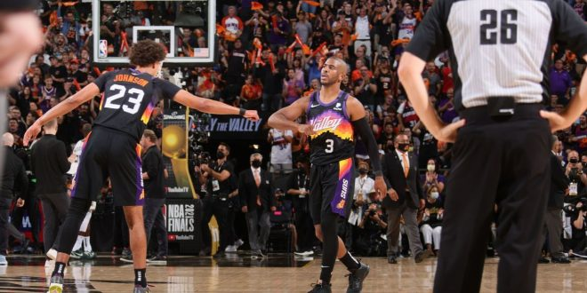 Suns feed off Paul in G1 win: 'Let him orchestrate'
