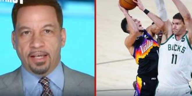 Chris Broussard believes Suns confused Milwaukee in Game 1: 'Bucks don't know how to defend them' | FIRST THINGS FIRST