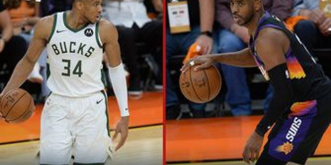 Nick Wright decides whether Giannis or CP3 is more crucial for the outcome of NBA Finals   FIRST THINGS FIRST