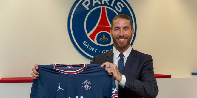 Sergio Ramos joins PSG on 2-year deal