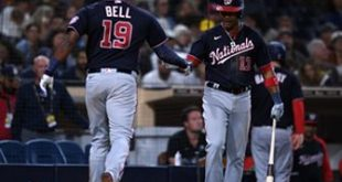 Josh Bell seventh-inning go-ahead homer seals Nationals' 7-5 win over Padres