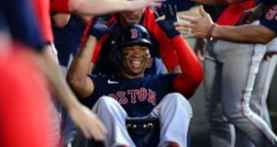 Rafael Devers crushes two-run blast in Red Sox's 5-4 win over Angels