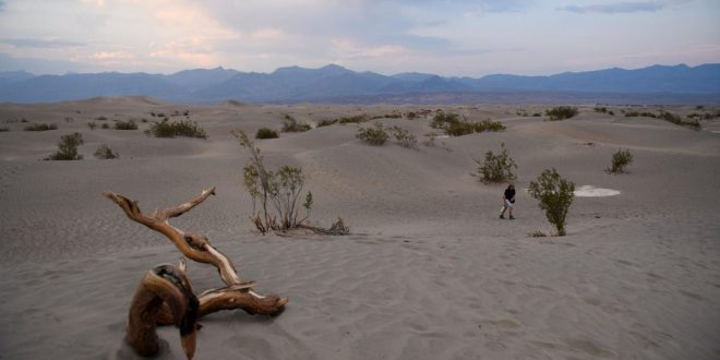 The 130-Degree Fahrenheit Reading in Death Valley Ties for the Hottest Temperature Ever Reliably Recorded