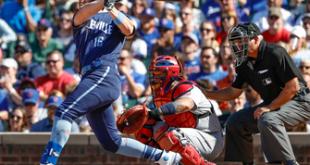 Cubs' offense explodes handing Cardinals 10-5 loss