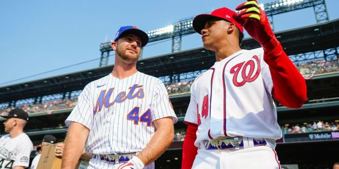 MLB's elite sluggers swung for the fences at Coors Field