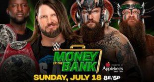 Raw Tag Team Champions AJ Styles & Omos vs. The Viking Raiders