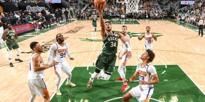 The Bucks reminded the Suns they have the best player in the NBA Finals