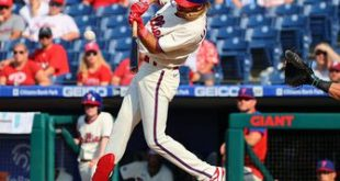 Phillies beat Marlins, 5-2, behind Travis Jankowski's 3-for-3, four-RBI game