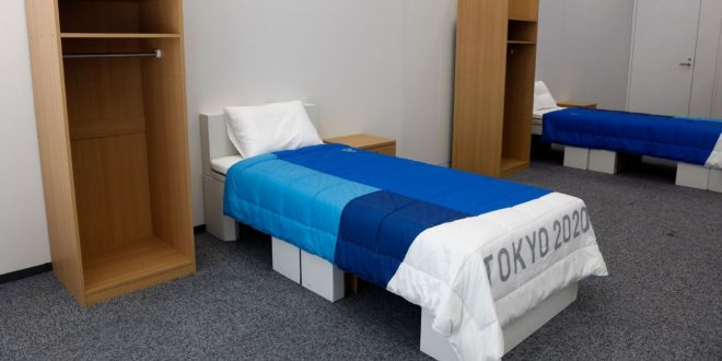 The hard truth about Olympic Village beds