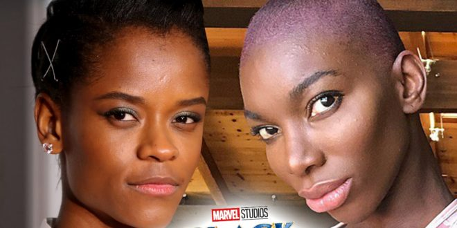 Michaela Coel's 'Black Panther' Casting Spurs Theory Letitia Wright's Out