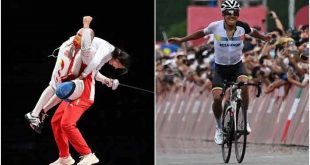 China claim early Olympic golds, Ecuador's Carapaz wins cycling crown