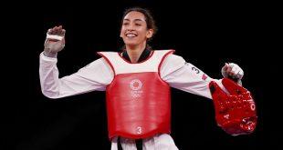 Iranian refugee shocks 2-time taekwondo champ