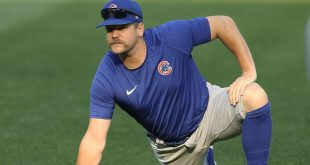 Athletics near deal for Cubs' Chafin, sources say