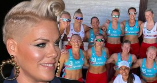 P!nk Says She'll Pay Norwegian Women's Handball Fines Over 'Sexist Rules'