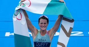 Duffy gives Bermuda first-ever gold at Olympics