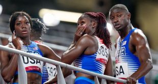U.S. out of mixed 4×400 relay; could cost Felix