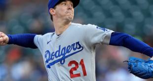 Walker Buehler fans eight in seven scoreless innings, Dodgers blank Giants, 8-0