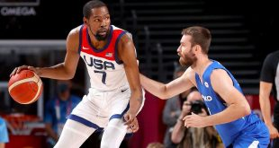 Olympics 2021 ICYMI: KD passes Melo, a new fastest woman, world record for Caeleb Dressel