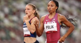 What you missed at the Olympics: Epic 200-meter final, Allyson Felix will race for gold, Sydney McLaughlin breaks own world record